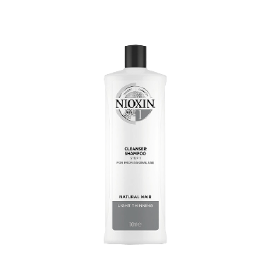 Nioxin System 1 Cleanser Shampoo Step for Natural Hair 1000ml