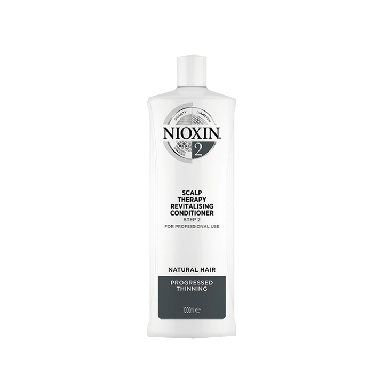 Nioxin System 2 Scalp Therapy Revitalizing Conditioner for Natural Hair with Progressed Thinning 1000ml