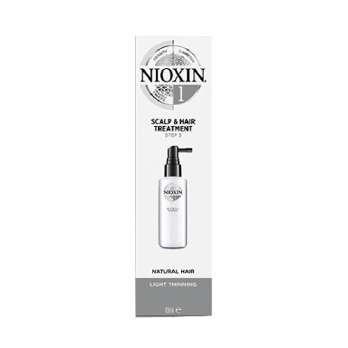 Nioxin System 1 Scalp & Hair Treatment for Natural Hair 100ml