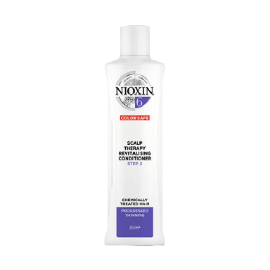 Nioxin System 6 Scalp Therapy Revitalizing Conditioner for Chemically Treated Hair with Progressed Thinning 300ml