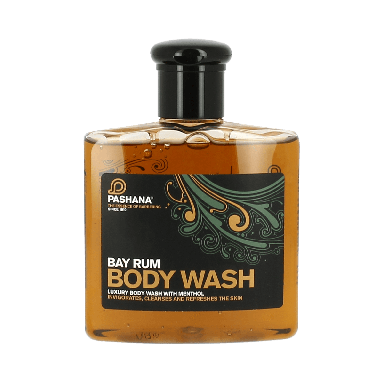 Pashana Bay Rum Body Wash 250ml