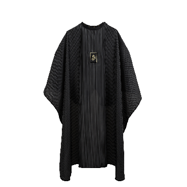 Pomp & Co Barber Cape with Bag