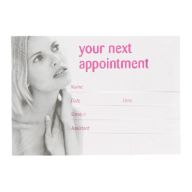 Quirepale Appointment Cards (100)