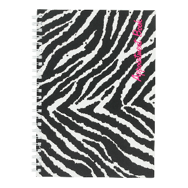 Quirepale Freelance Zebra Appointment Book