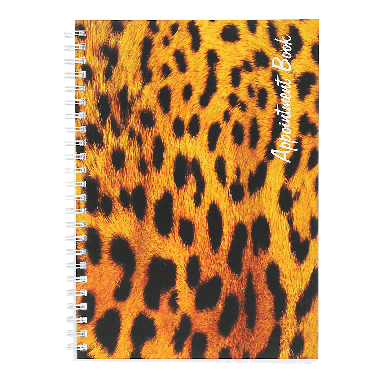 Quirepale Freelance Leopard Appointment Book