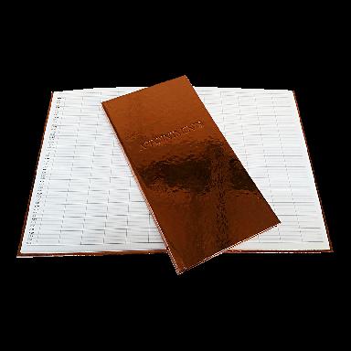 Quirepale 3 Assistant Appointment Books Premium Bronze