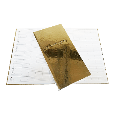 Quirepale 3 Assistant Appointment Books Premium Gold