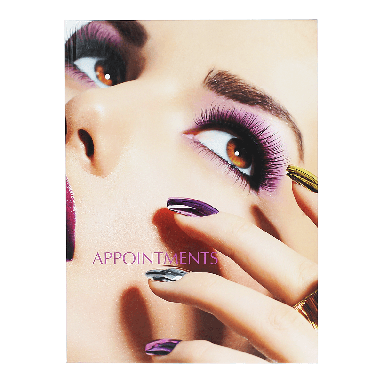 Quirepale 6 Assistant Appointment Books Premium Nails