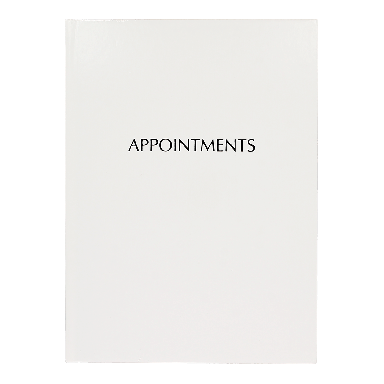 Quirepale 6 Assistant Appointment Books White