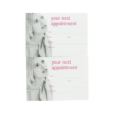 Quirepale Appointment Cards 200