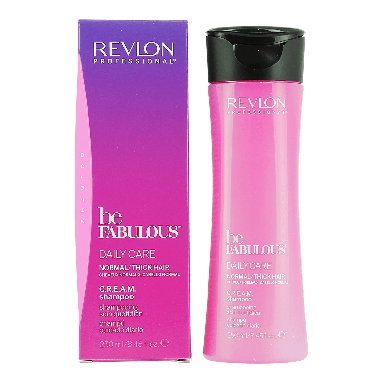 Revlon Be Fabulous Daily Care Normal / Thick Hair C.R.E.A.M Shampoo 250ml
