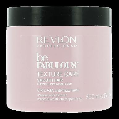 Revlon Be Fabulous Texture Care Smooth Hair Anti-frizz Mask 500ml