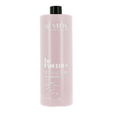 Revlon Be Fabulous Texture Care Smooth Hair Anti-frizz Shampoo 1000ml