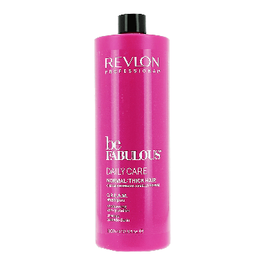 Revlon Be Fabulous Daily Care Normal / Thick Hair C.R.E.A.M Shampoo 1000ml