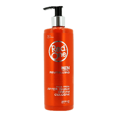 Red One  Revitalizing After Shave Cream Cologne 400ml