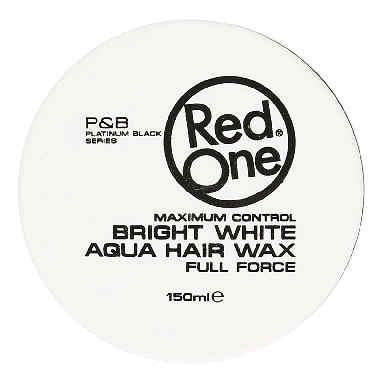 Red One Bright White Aqua Hair Wax 150ml