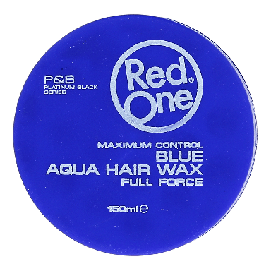 Red One Blue Aqua Hair Wax 150ml