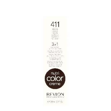 Revlon Professional Nutri Color Creme 411 Brown 100ml