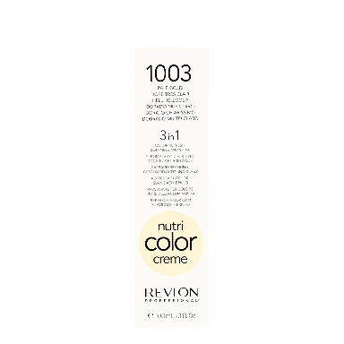 Revlon Professional Nutri Color Creme 1003 Pale Gold 100ml