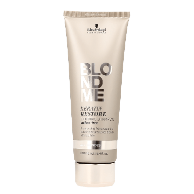 Schwarzkopf BlondMe Tone Enhancing Bonding Shampoo All Blondes 250ml