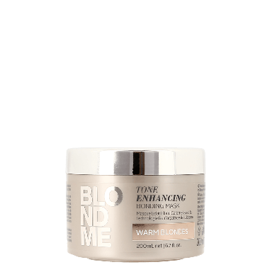 Schwarzkopf BlondMe Tone Enhancing Bonding Mask Warm Blondes 200ml