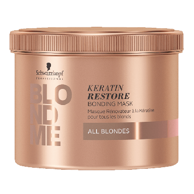 Schwarzkopf BLONDME All Blondes Keratin Restore Bonding Mask 500ml