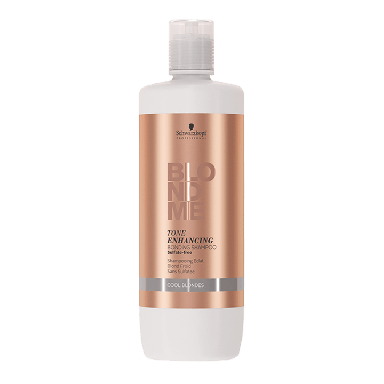 Schwarzkopf BLONDME Cool Blondes Enhancing Bonding Shampoo 1000ml