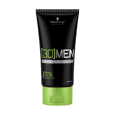 Schwarzkopf 3DMen Strong Hold Gel 150ml