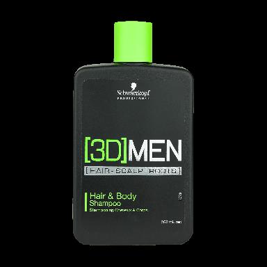 Schwarzkopf [3D]Men Hair & Body Shampoo 250ml