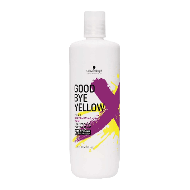 Schwarzkopf Goodbye Yellow pH 4.5 Neutralizing Wash Shampoo 1000ml