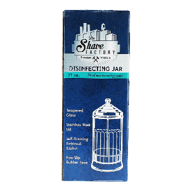 The Shave Factory Professional-Grade Disinfecting Jar 37oz