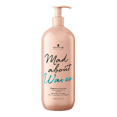 Schwarzkopf Mad About Waves Windswept Conditioner 1000ml
