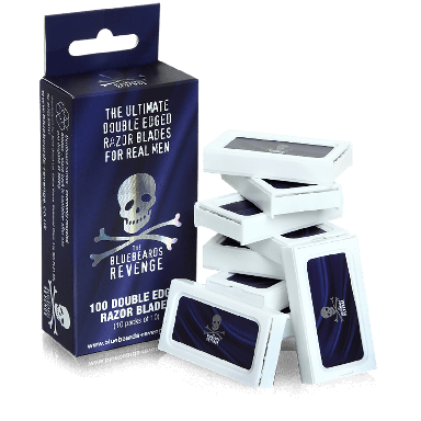 The Bluebeards Revenge Double Edged Razor Blades (100 Blades)
