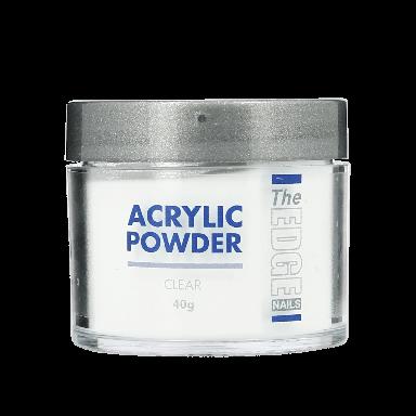 The Edge Nails Acrylic Powder Clear 40g