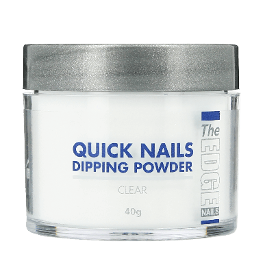 The Edge Nails Quick Nails Dipping Powder Clear 40g