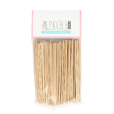 The Edge Nails Wooden Manicure Sticks x 100