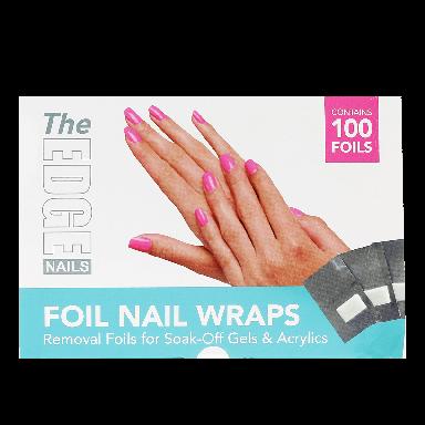 The Edge Nails Foil Nail Wraps (100 Foils)