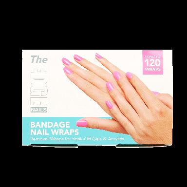 The Edge Nails Bandage Nail Wraps (120 Wraps)