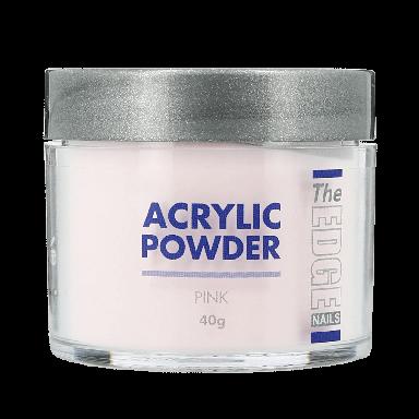 The Edge Nails Acrylic Powder Pink 40g