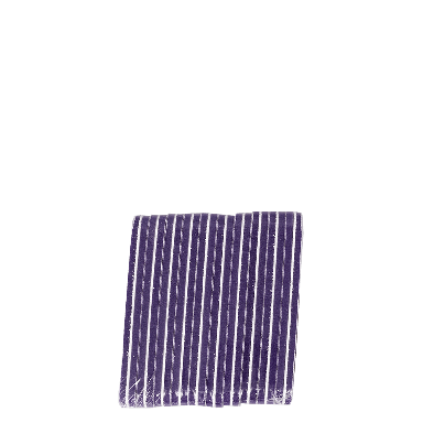 The Edge Nails Purple Foamie File 10 pack