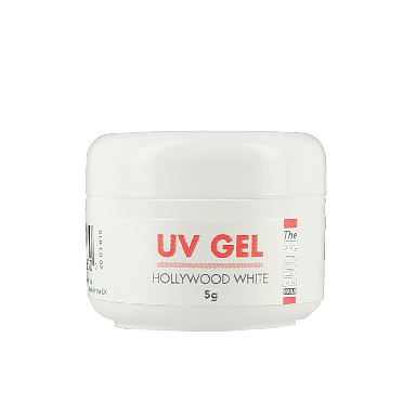 The Edge Nails UV Gel Hollywood White 5g