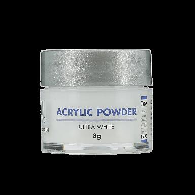 The Edge Nails Acrylic Powder Ultra White 8g