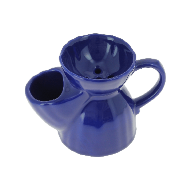 Vulfix Royal Blue Shaving Scuttle and Soap
