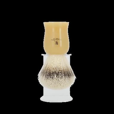 Vie-Long Synthetic Hair Shaving Brush Caramel
