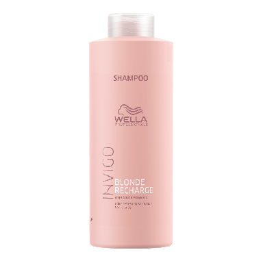 Wella Invigo Blonde Recharge Cool Blonde Refreshing Shampoo 1000ml