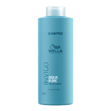 Wella Invigo Aqua Pure Purifying Shampoo 1000ml