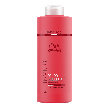 Wella Invigo Color Brilliance Coarse Color Protection Shampoo 1000ml