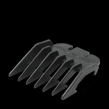 Wahl 3106-450 Right Ear Taper Attachment Comb Black