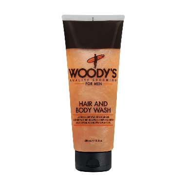 Woody's For Men Hair and Body Wash 296ml