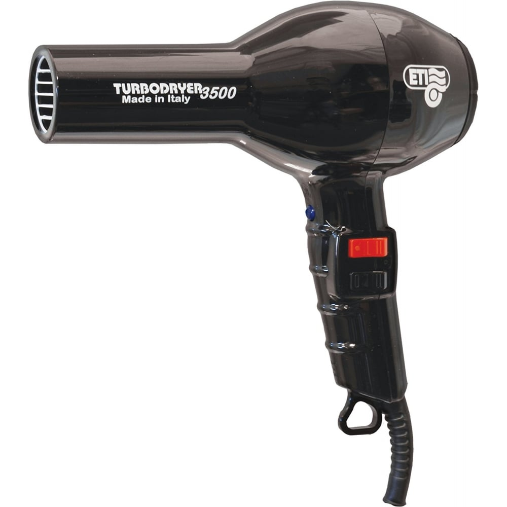 ETI Turbodryer 3500 Professional Salon Hairdryer Black